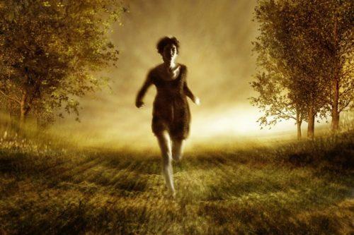 tiempo final mujer corriendo