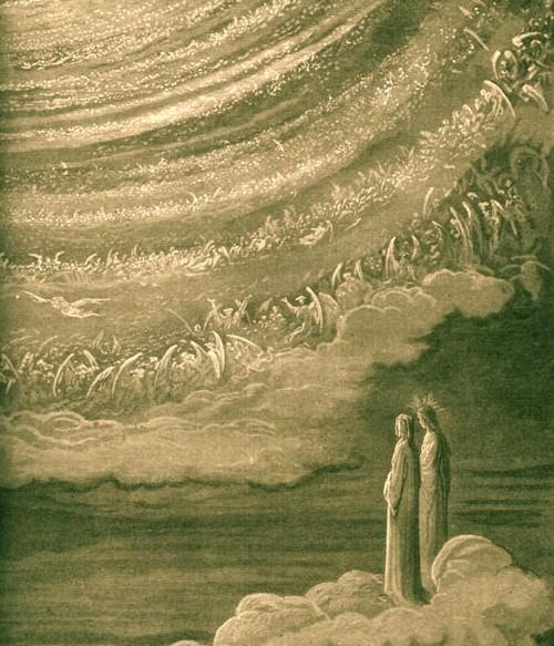 Dore almas en el cielo
