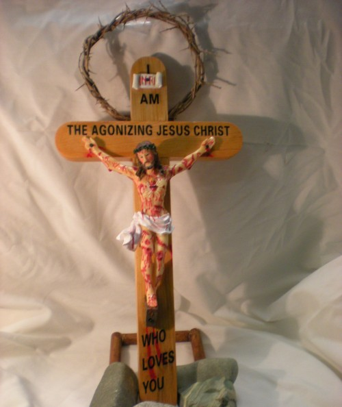 jesus agonizante crucifijo