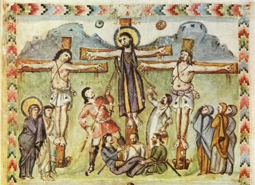 jesus traspasado por la lanza de longinos