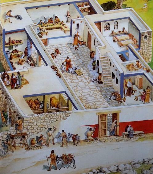 casas en israel en tiempos de jesus