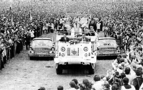 procesion juan pablo ii en polonia