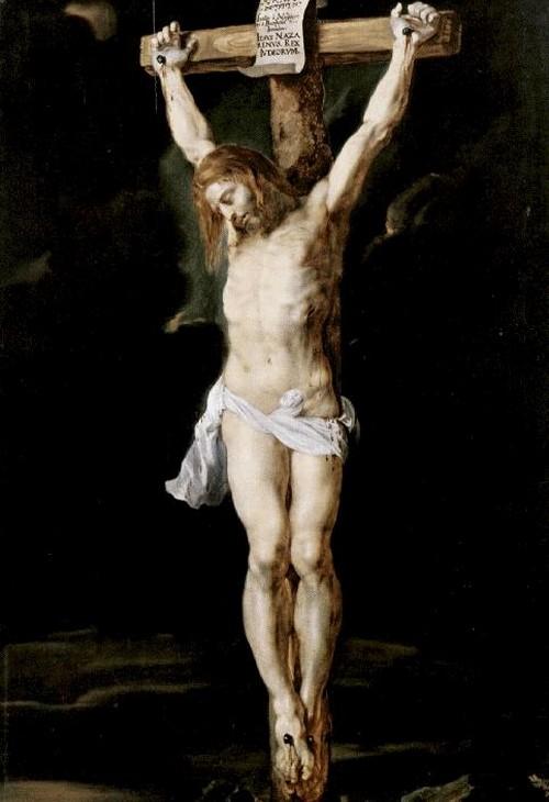 Cristo crucificado-Rubens