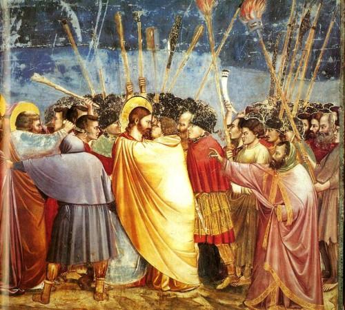 Giotto beso de judas