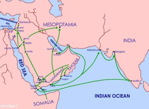 mapa del incioenso