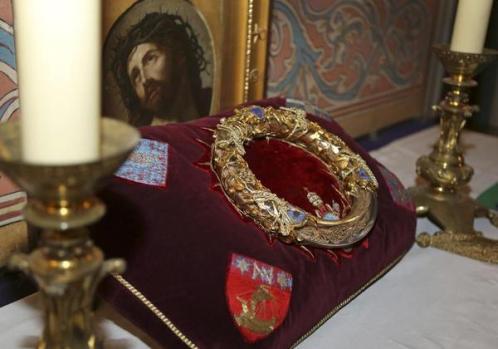 corona de espinas de jesucristo en francia