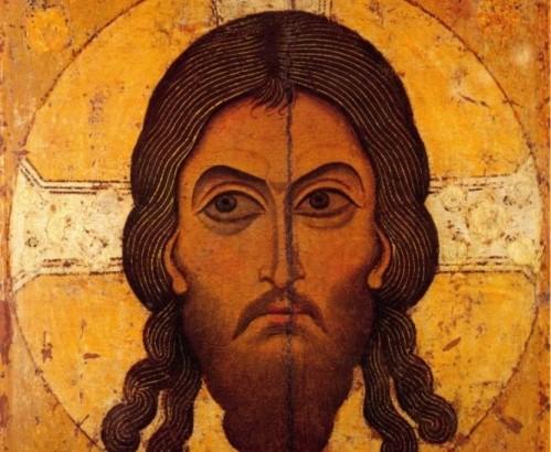 icono de la cara de jesus