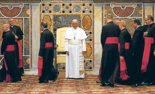 francisco y obispos