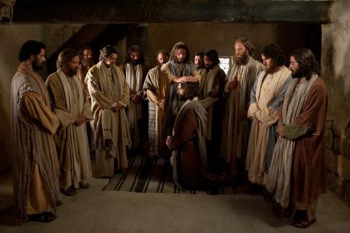 jesus y los 12 apostoles fondo