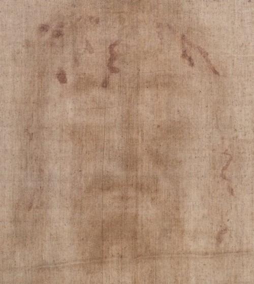 imagen de la cara de cristo en la sabana santa
