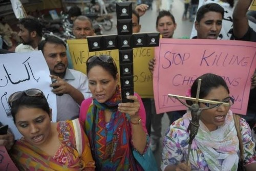 paren de matar a los cristianos em pakistan