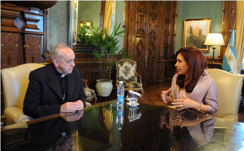 Kirchner_Bergoglio