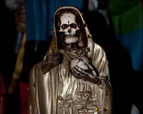 imagen de la santa muerte