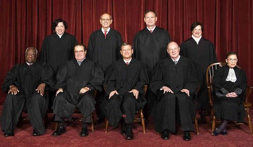 Los-miembros-de-la-Corte-Suprema-de-Estados-Unidos