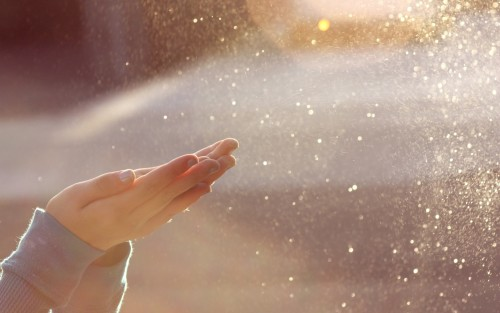 orando por bendiciones