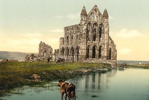 Whitby-Abbey decadencia del cristianismo en inglaterra