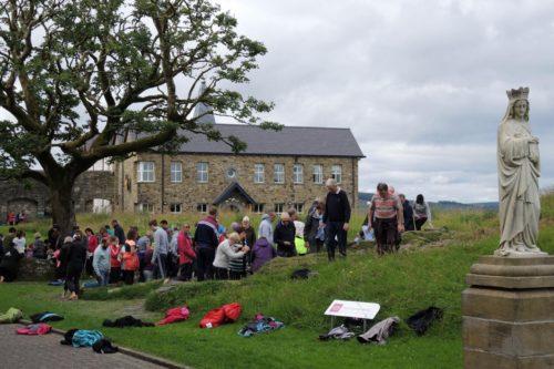 peregrinaje de expiacion en Lough Derg