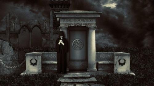 cuidados de tumba satanica