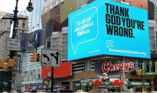 aviso evangelico en times square