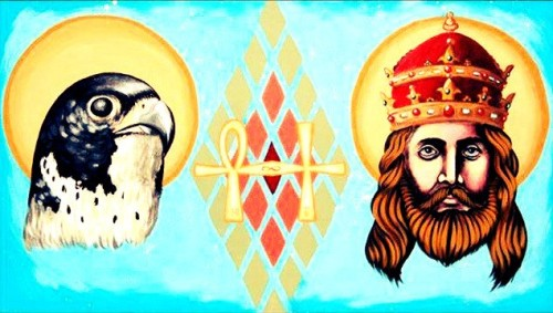 horus y jesucristo