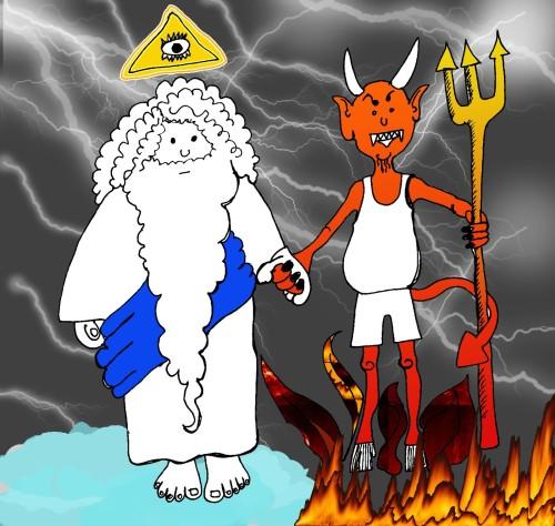 dios y el diablo ateismo cristiano