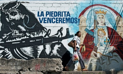 grafiti-de-jesus-guerrillero