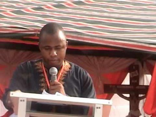 bernabe nwoye predicando