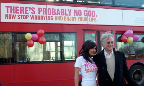 afiche de omnibus de que dios no existe
