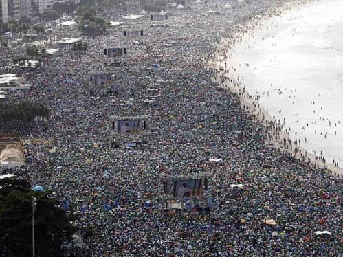 misa de envio del papa al finalizar la jmj de rio