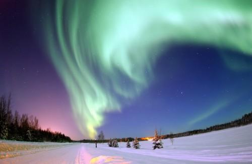 aurora boreal polar