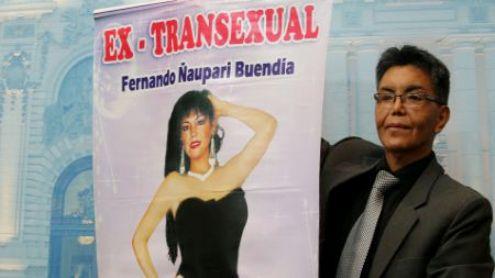 FERNANDO ÑAUPARI BUENDIA TRANSEXUAL QUE PIDE RECONSIDERACION DE GENERO