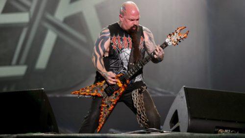 Integrante de la Banda Slayer en Rio