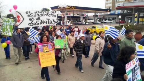 marcha en paysandu contra el aborto