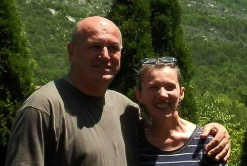 Ivo Juricic y su esposa Zdenka