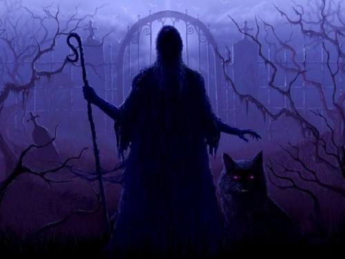 demonio en la sombra