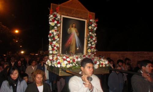 procesion jesus de la misericordia fondo