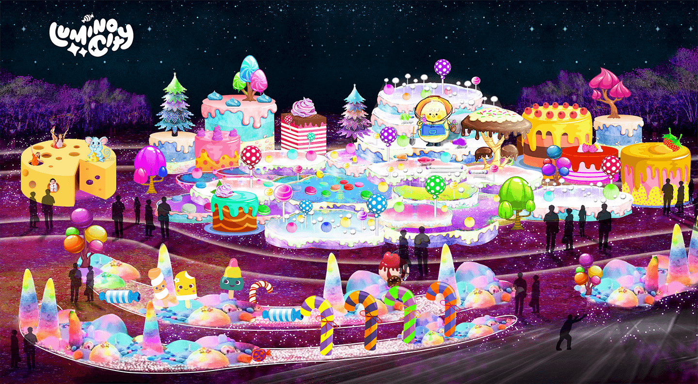 the-cake-terraces-the-sweet-dream-light-arts-luminocity-festival-rendered-image