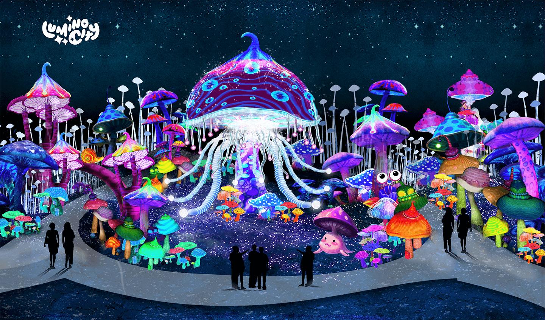 the-mushrrom-forrest-the-wild-adventure-light-arts-luminocity-festival-rendered-image
