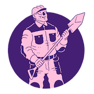 Icon of different industry workers