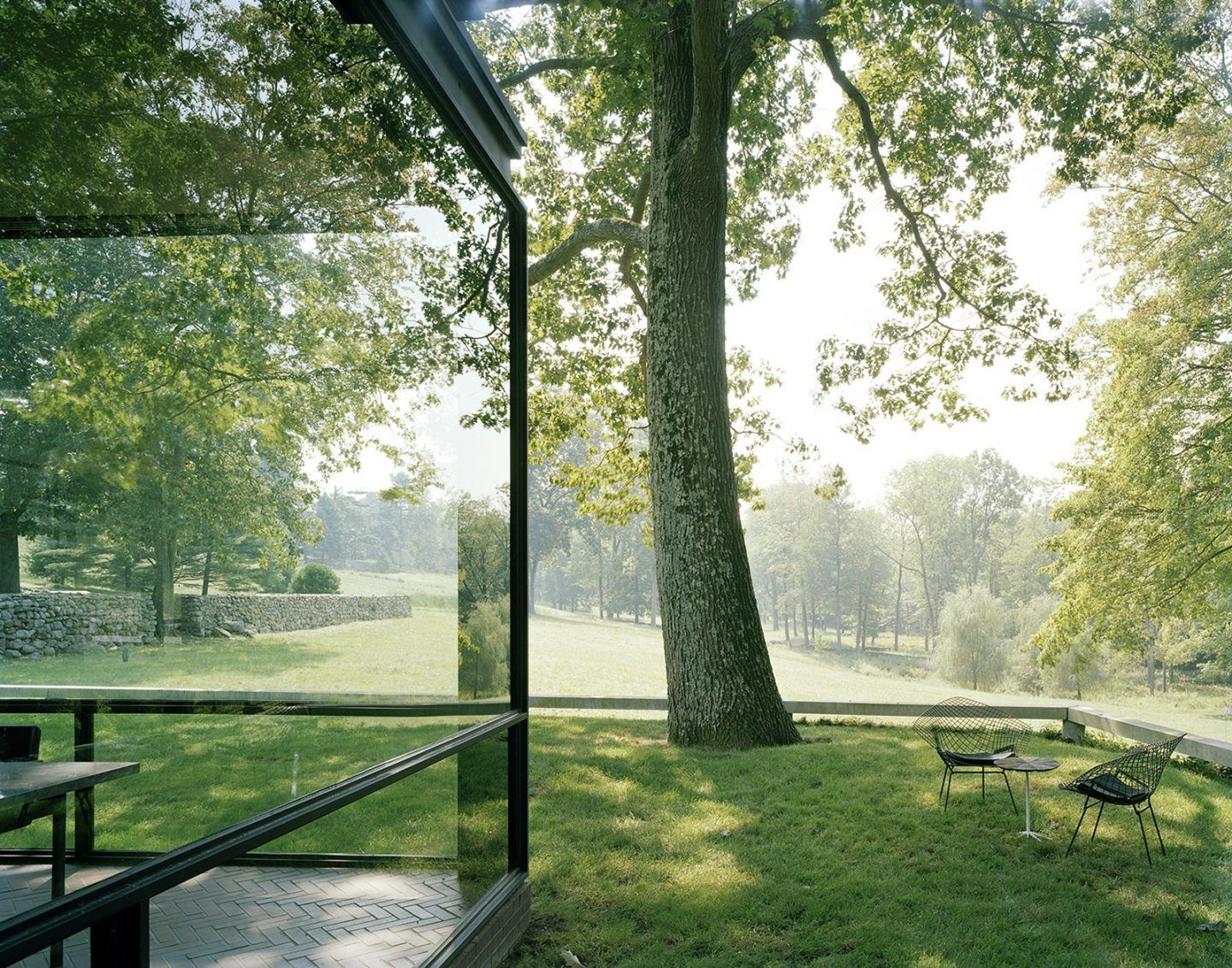 Philip Johnson Glass House the glass house by philip johnson