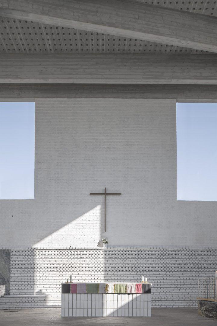 Årsta Church by Johan Celsing Arkitektkontor