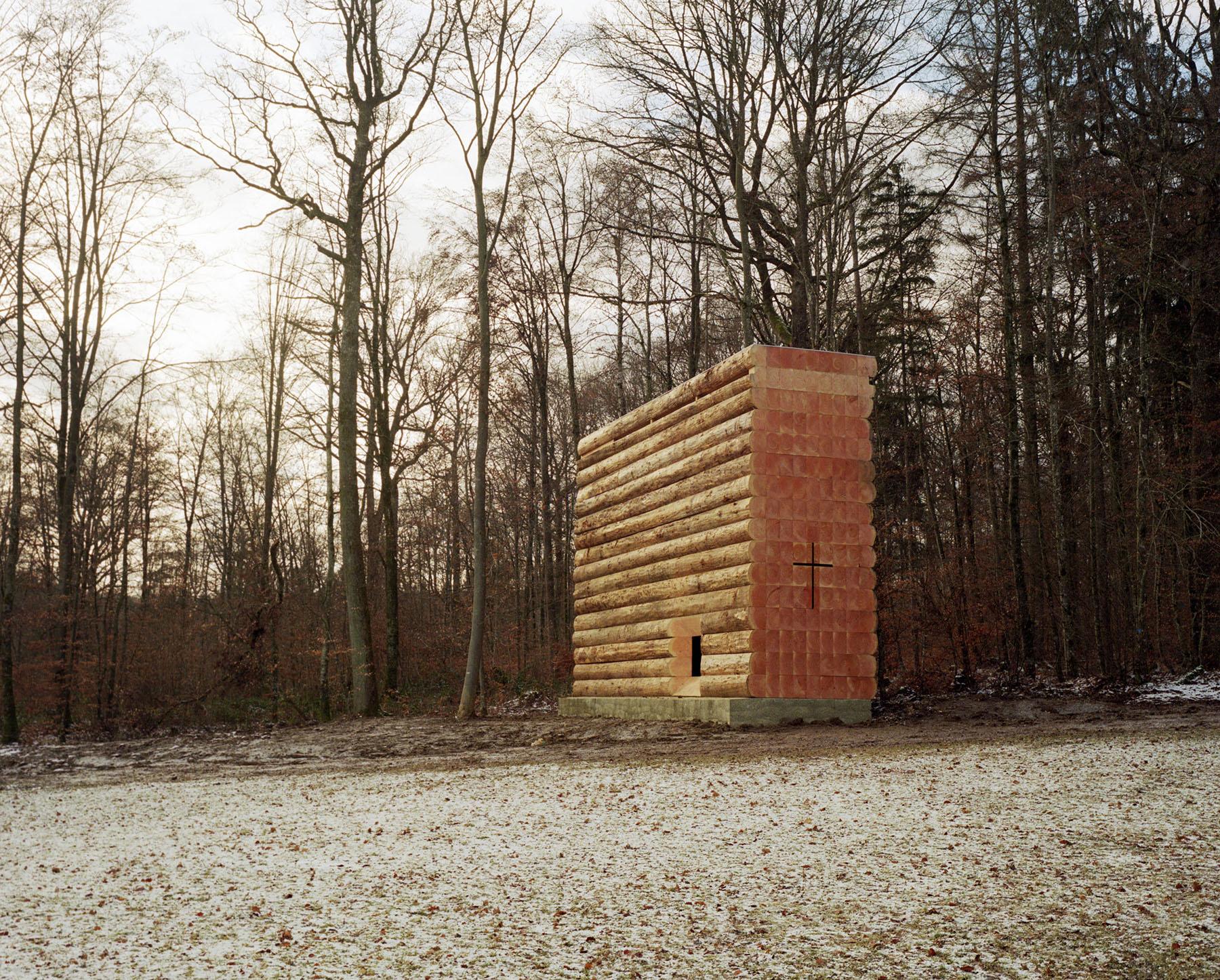 Wooden Chapel by John Pawson