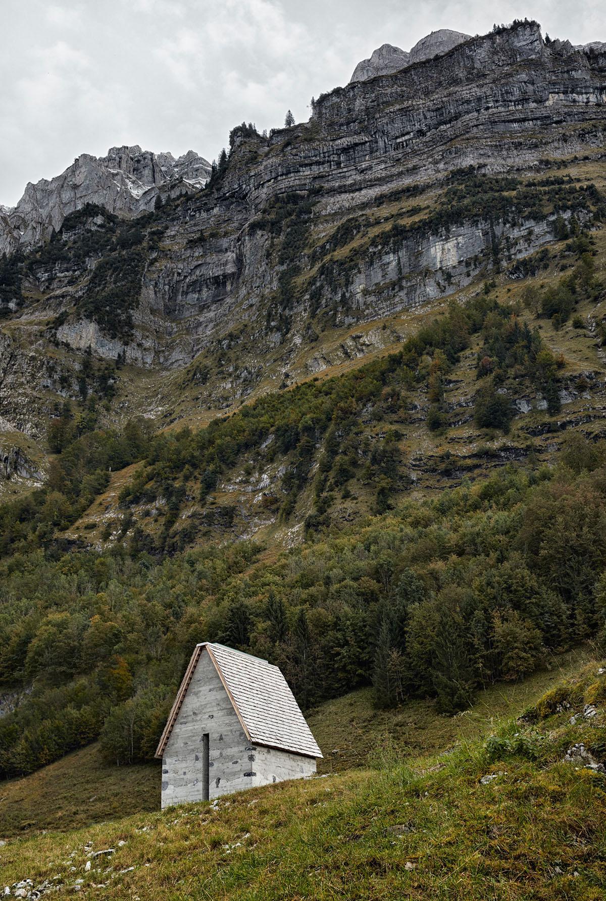 Alpine Chapel Wirmboden by Innauer-Matt Architekten