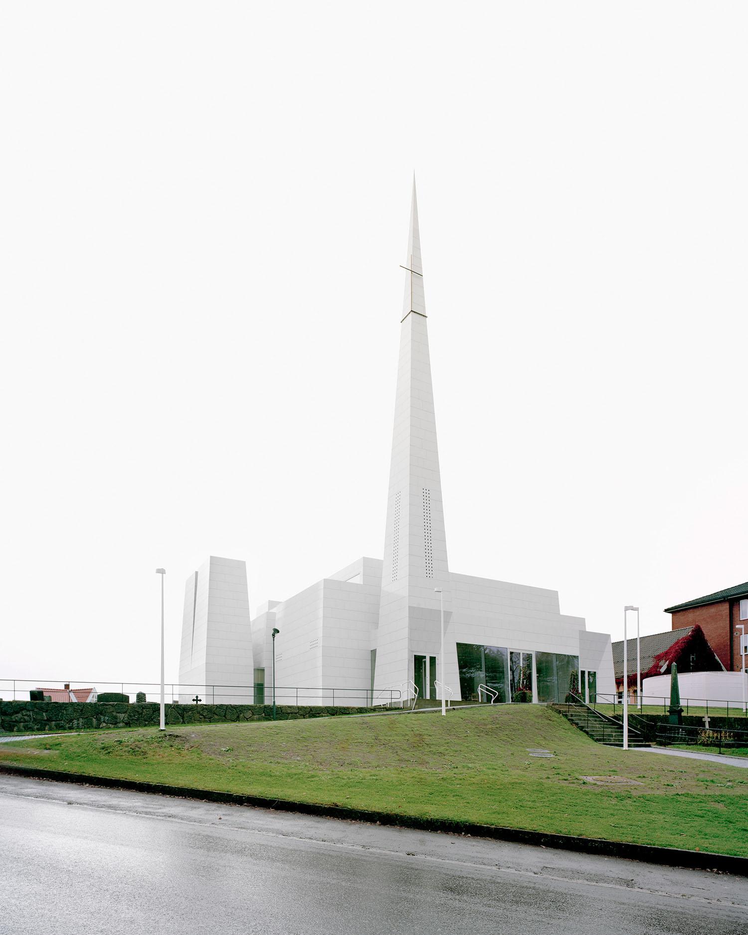Porsgrunn Church by Espen Surnevik