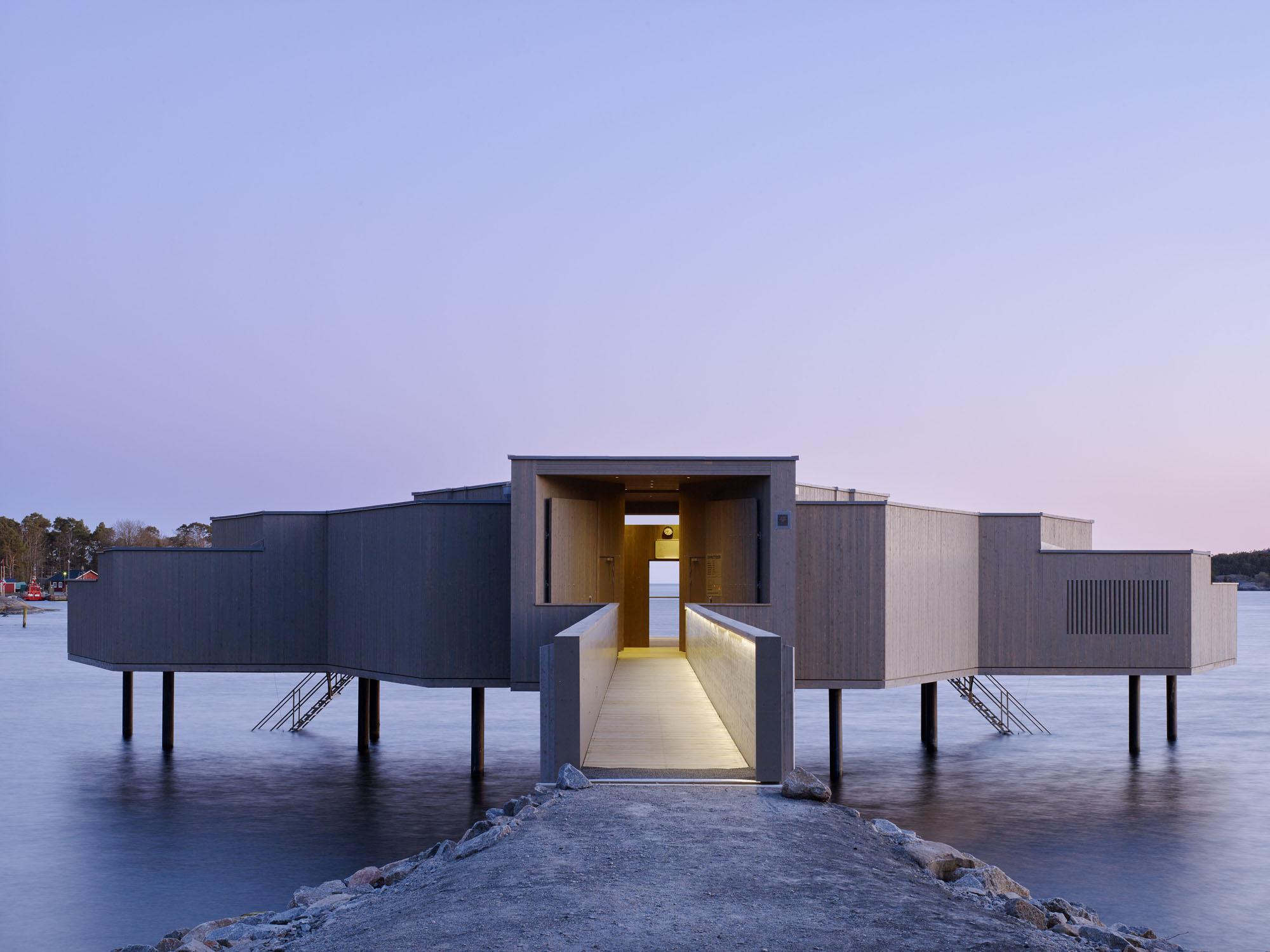 Karlshamn Cold Bath House by White Arkitekter