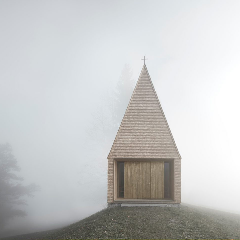 Kapelle Salgenreute by Bernardo Bader Architects