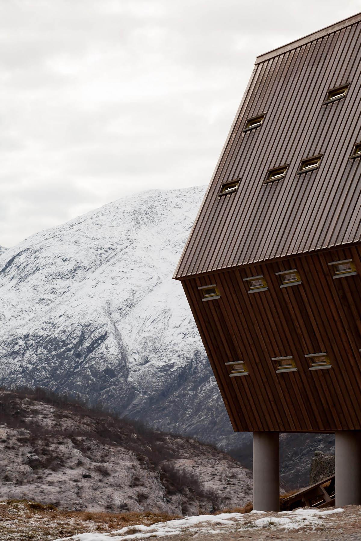 Tungestølen Hiking Cabin by Snøhetta