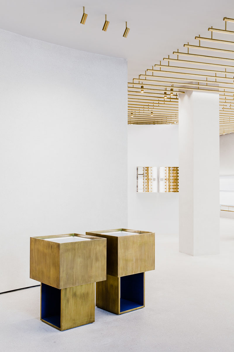 Jil Sander Store in Berlin by Andrea Tognon