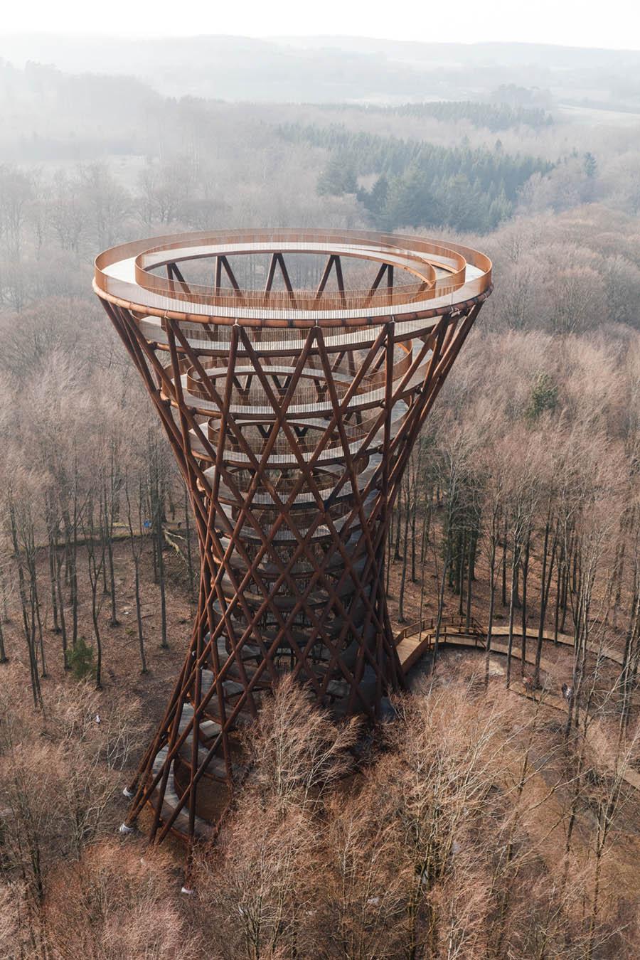 Camp Adventure Observation Tower by EFFEKT