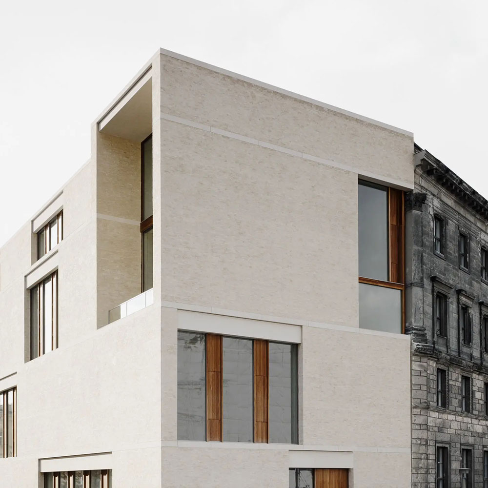 Gallery building Am Kupfergraben by David Chipperfield